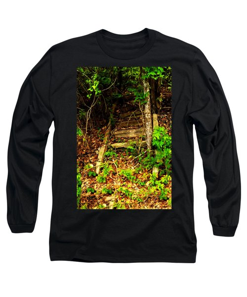 Secret Stairway Long Sleeve T-Shirt