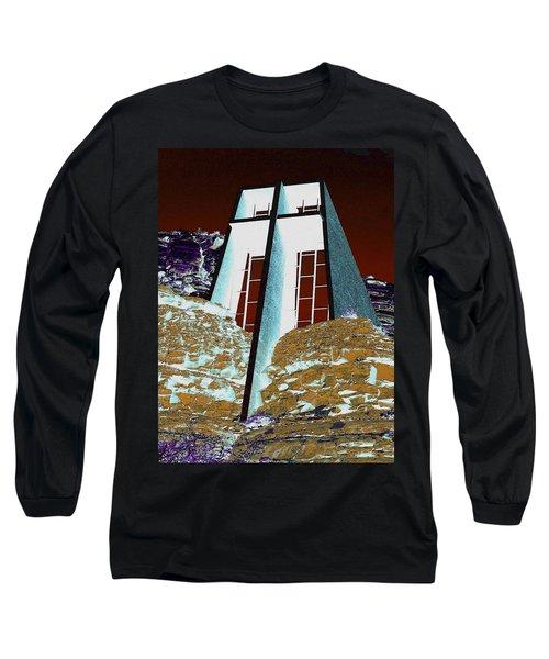Sedona Rock Church Long Sleeve T-Shirt