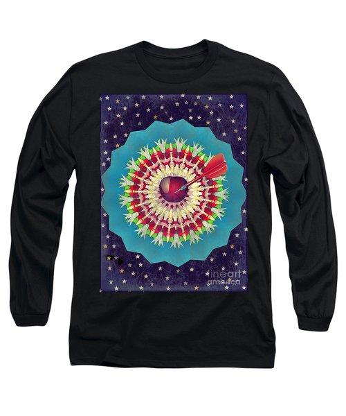 Long Sleeve T-Shirt featuring the digital art Seduction  by Eleni Mac Synodinos