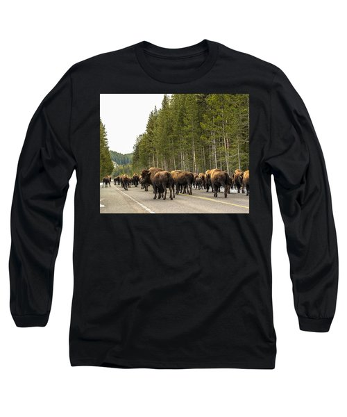 Long Sleeve T-Shirt featuring the photograph See You In Spring by Yeates Photography