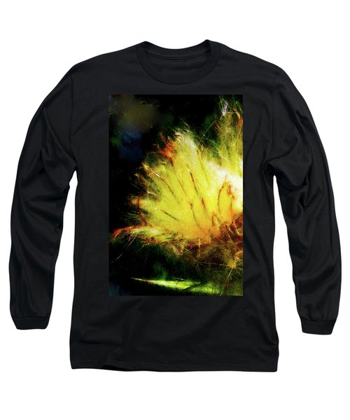 Seedburst Long Sleeve T-Shirt by Chuck Mountain