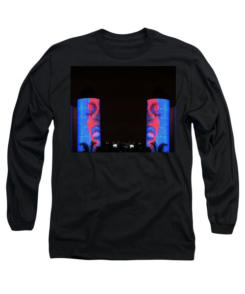 Long Sleeve T-Shirt featuring the photograph Seeing Double by J Anthony