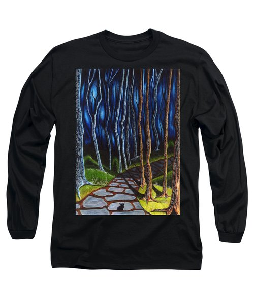 Seeking A Shadow  Long Sleeve T-Shirt