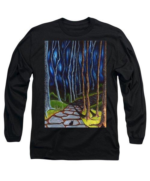 Seeking A Shadow  Long Sleeve T-Shirt