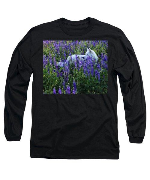 Sekani In Lupine Long Sleeve T-Shirt
