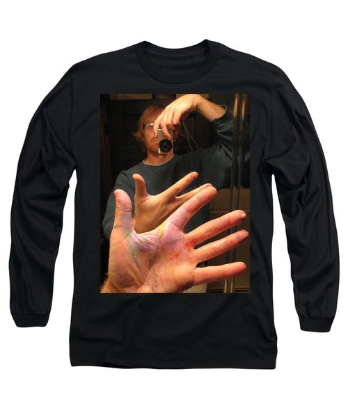 Self Photo Portrait Long Sleeve T-Shirt