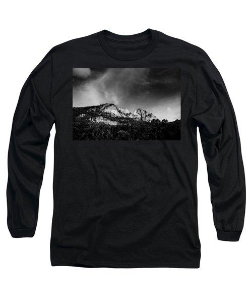 Seneca Rocks Long Sleeve T-Shirt by Shane Holsclaw