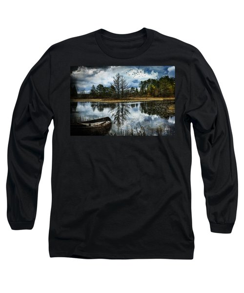 Seney And The Rowboat Long Sleeve T-Shirt