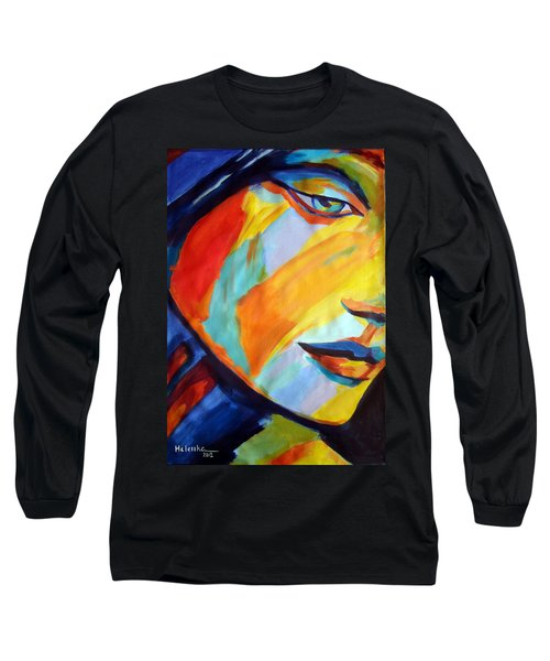 Long Sleeve T-Shirt featuring the painting Sentiment by Helena Wierzbicki