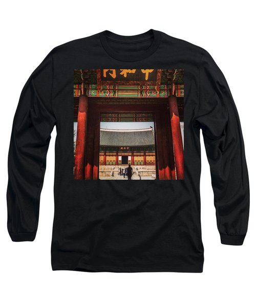 Seoul, South Korea Long Sleeve T-Shirt