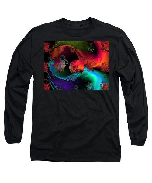 Seperation And Individuation Long Sleeve T-Shirt by Claude McCoy