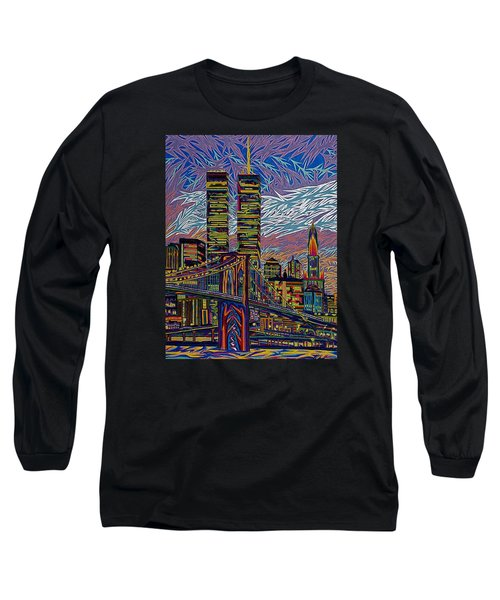 September 10th  Long Sleeve T-Shirt by Robert SORENSEN