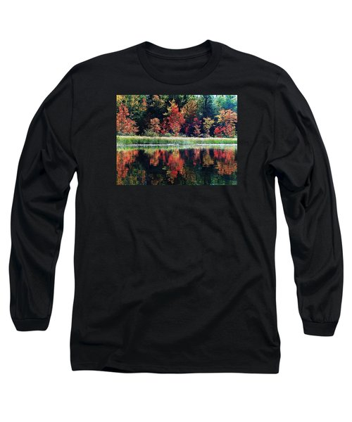 Long Sleeve T-Shirt featuring the photograph September Color by Joy Nichols