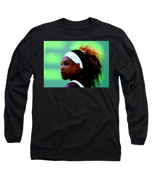 Serena Williams Match Point Long Sleeve T-Shirt