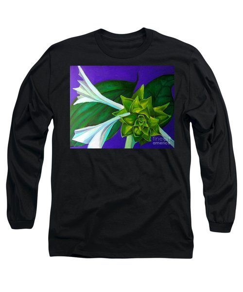 Serene Green One Long Sleeve T-Shirt