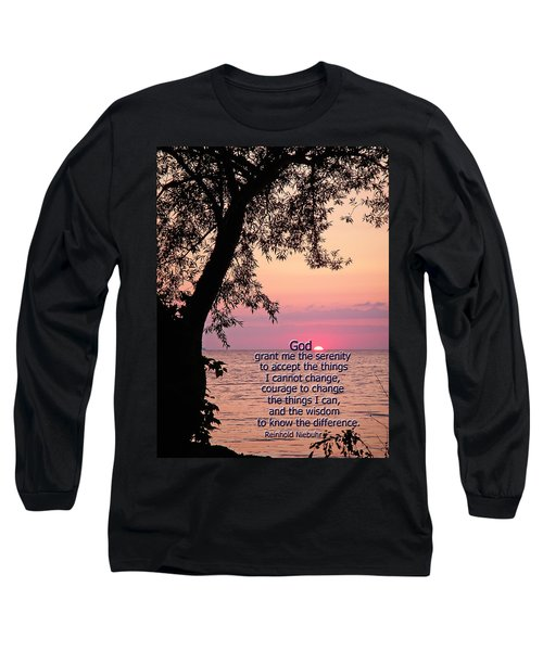 Long Sleeve T-Shirt featuring the photograph Serenity by Aimee L Maher Photography and Art Visit ALMGallerydotcom