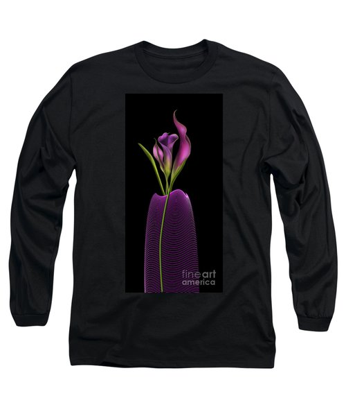 Serenity In Purple Long Sleeve T-Shirt