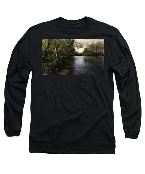 Long Sleeve T-Shirt featuring the photograph Serenity by Lynn Geoffroy