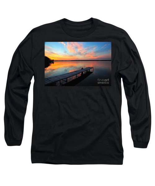 Serenity Long Sleeve T-Shirt by Terri Gostola