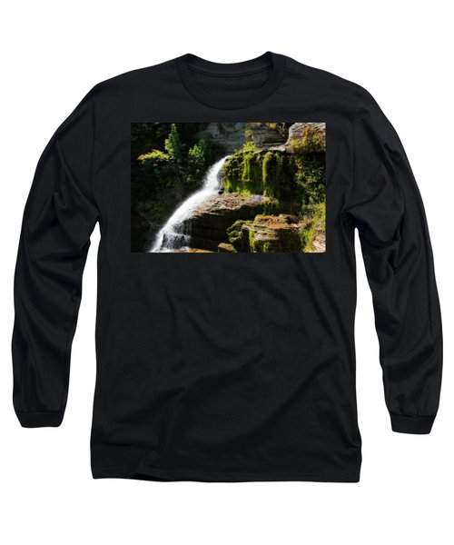 Long Sleeve T-Shirt featuring the photograph Serenity by Trina  Ansel