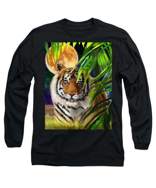 Second In The Big Cat Series - Tiger Long Sleeve T-Shirt