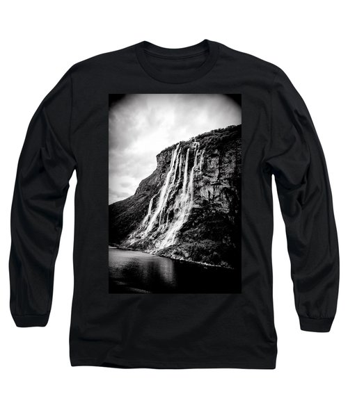 Seven Sisters Waterfall Long Sleeve T-Shirt by Bill Howard