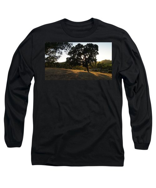 Long Sleeve T-Shirt featuring the photograph Shade Tree  by Shawn Marlow