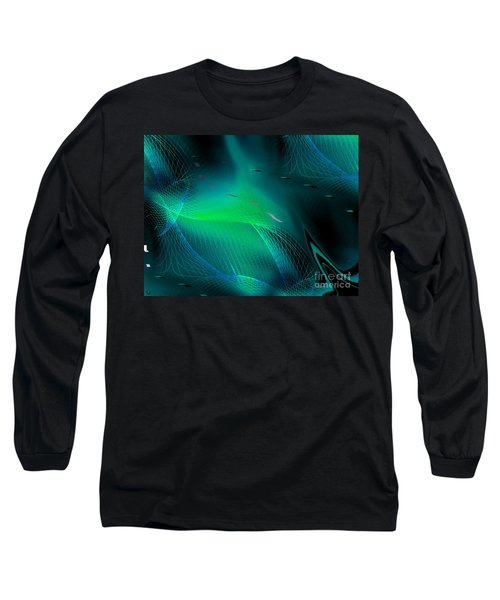 Long Sleeve T-Shirt featuring the painting Ecstasy by Yul Olaivar
