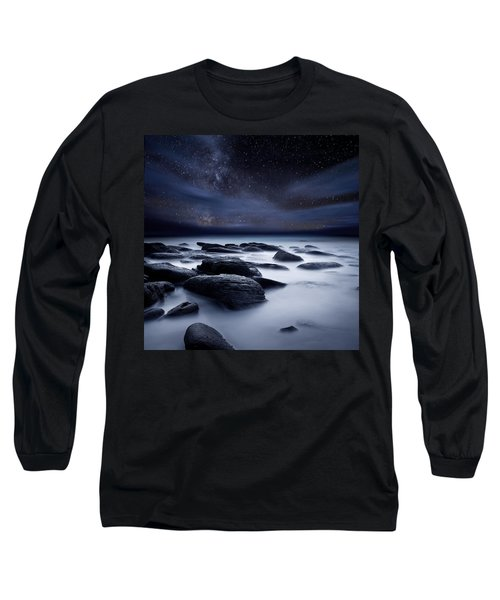Shadows Of The Night Long Sleeve T-Shirt by Jorge Maia