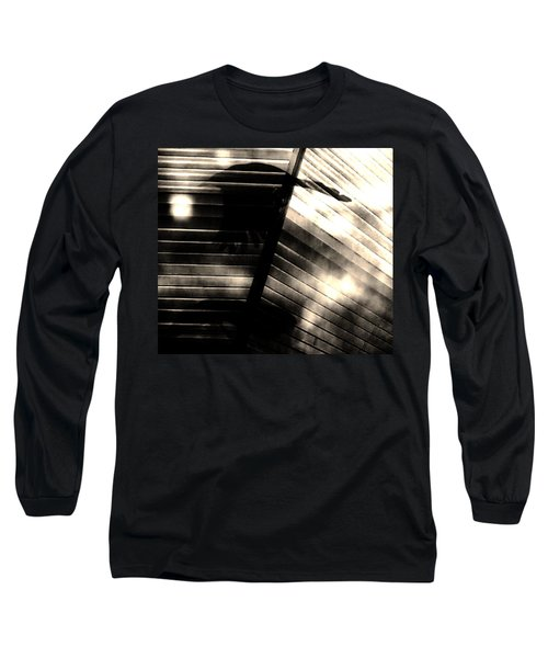Long Sleeve T-Shirt featuring the photograph Shadows Symphony  by Jessica Shelton