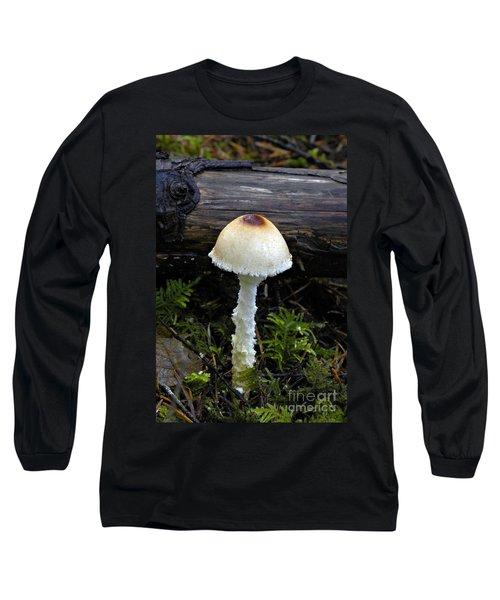 Shaggy-stalked Parasol Mushroom Long Sleeve T-Shirt