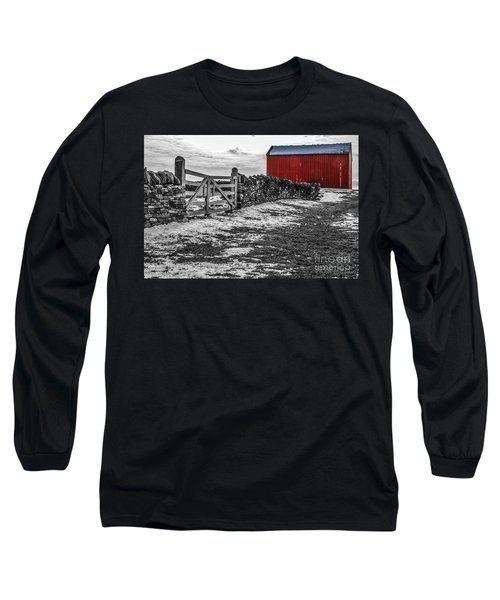 Shakertown Red Barn - Sc Long Sleeve T-Shirt