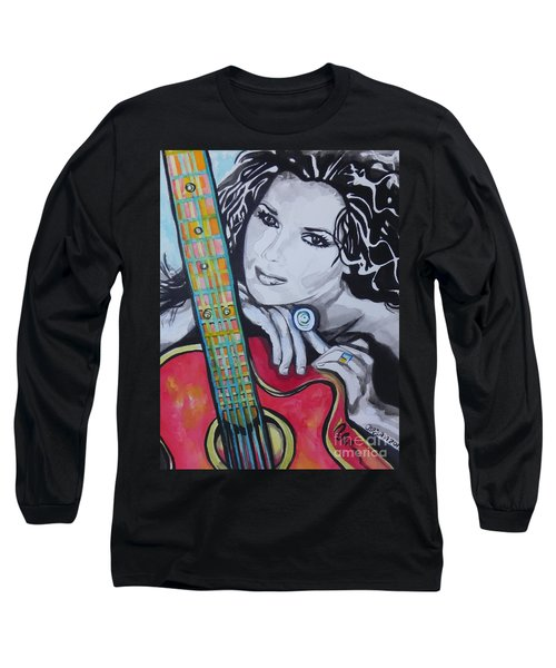 Shania Twain Long Sleeve T-Shirt