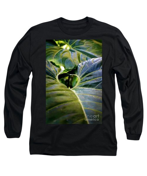 Long Sleeve T-Shirt featuring the photograph Shapes Of Hawaii 11 by Ellen Cotton