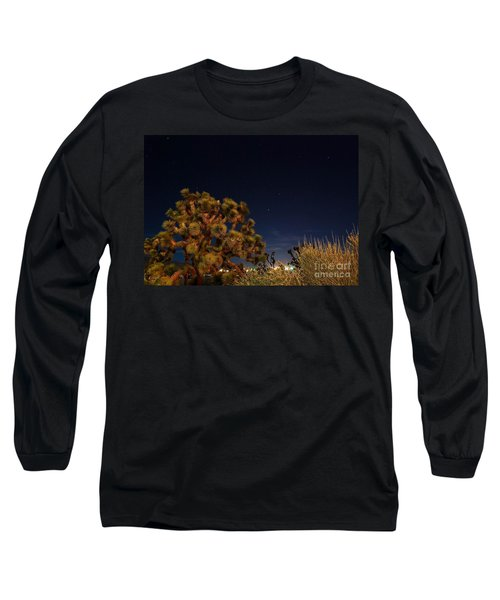 Long Sleeve T-Shirt featuring the photograph Sharing The Land by Angela J Wright