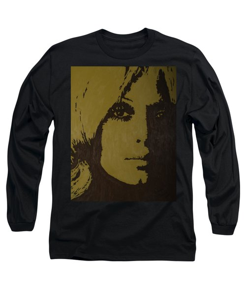 Long Sleeve T-Shirt featuring the painting Sharon by Darlene Fernald