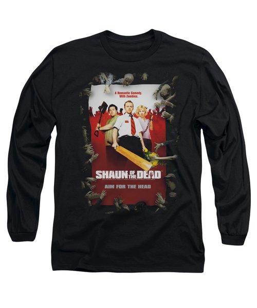 Shaun Of The Dead - Poster Long Sleeve T-Shirt