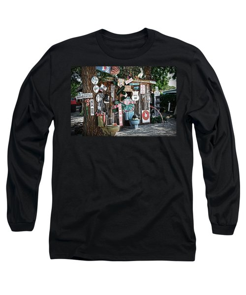 Shed Toilet Bowls And Plaques In Seligman Long Sleeve T-Shirt