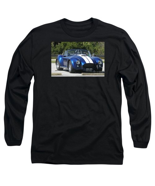 Shelby Cobra Long Sleeve T-Shirt by Christiane Schulze Art And Photography