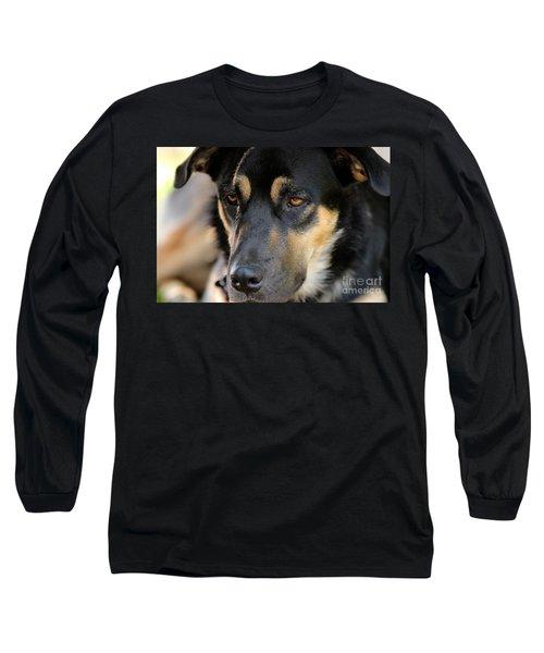 Shepherd Face Long Sleeve T-Shirt