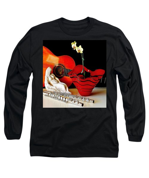 Long Sleeve T-Shirt featuring the photograph Sherrie's Delight by Elf Evans