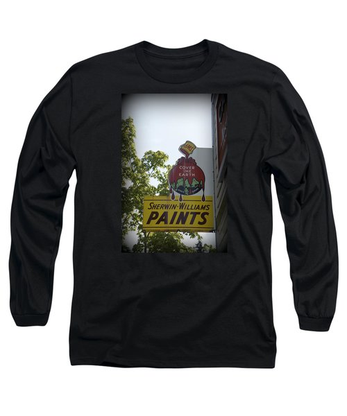 Sherwin Williams Long Sleeve T-Shirt by Laurie Perry