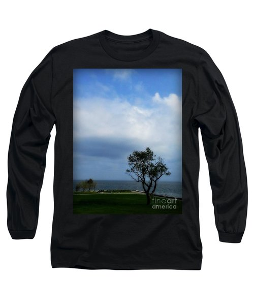 Sherwood Island Long Sleeve T-Shirt by Kristine Nora