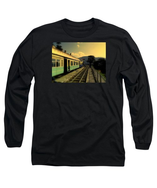 Shimla Railway Station Long Sleeve T-Shirt