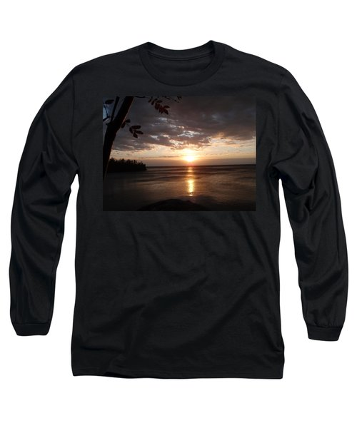 Long Sleeve T-Shirt featuring the photograph Shimmering Sunrise by James Peterson