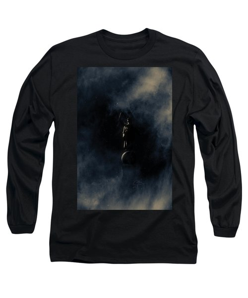 Long Sleeve T-Shirt featuring the photograph Shine Forth In Darkness by Greg Collins