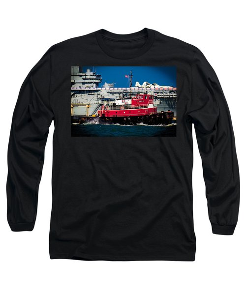 Shipping Lane Hero Long Sleeve T-Shirt