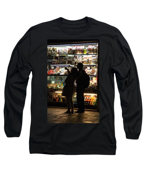 Long Sleeve T-Shirt featuring the photograph Shop by Silvia Bruno