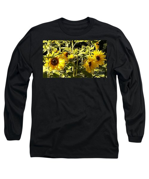 Shout Out Summer Long Sleeve T-Shirt by Martin Howard