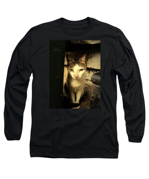 Shy Cat Long Sleeve T-Shirt